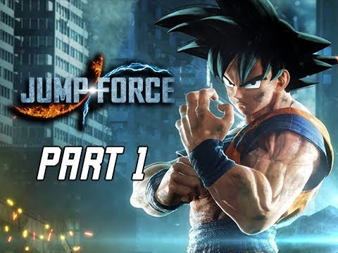 JUMP FORCE Gameplay Walkthrough Part 1 - Intro & Prologue (Let's Play)