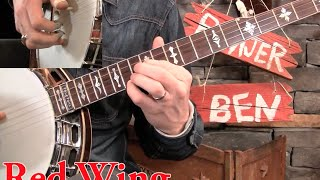 Red Wing Banjo Lesson- Alan Munde Version