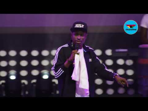 Kenny Blaq's Live performance in Ghana at 2018 Easter Comedy show