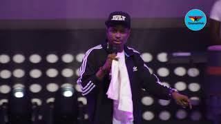 Kenny Blaqs Live performance in Ghana at 2018 Easter Comedy show