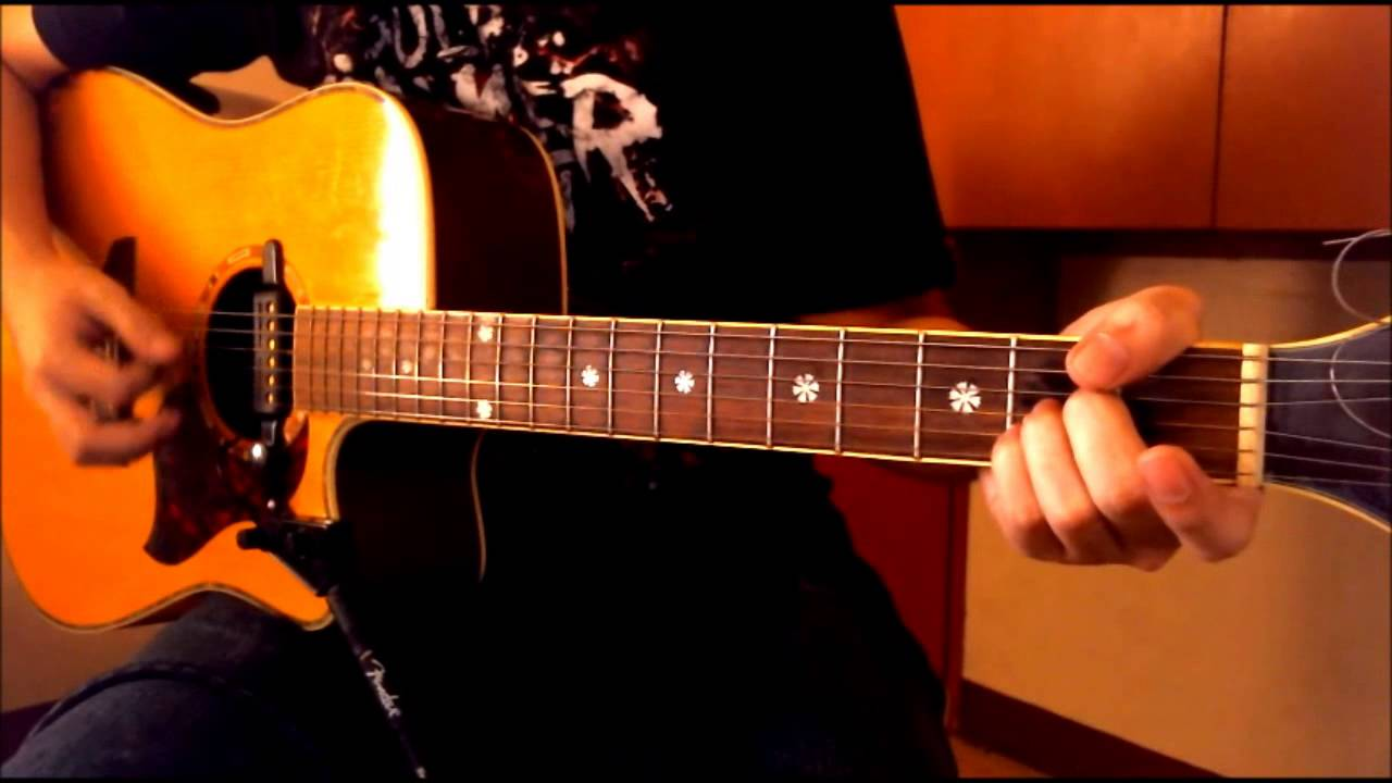 State Of Grace Chords Taylor Swift Chordsworld Guitar Tutorial