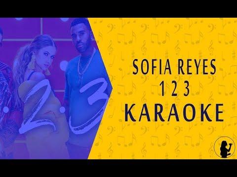 KARAOKE | Sofia Reyes - 1, 2, 3 Ft. Jason Derulo, De La Ghetto