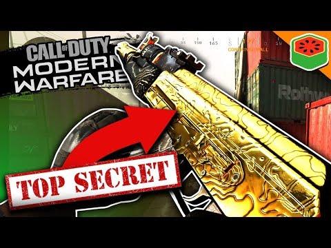 I Unlocked A SECRET Golden Gun! | Call of Duty: Modern Warfare