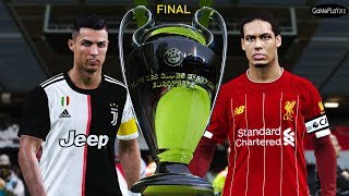 PES 2020 - Liverpool vs Juventus - Final UEFA Champions League 2019/2020 - Ronaldo vs Salah