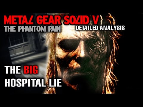 MGS5 Detailed Analysis - The BIG Hospital Lie | Proof That All Is Not As It Seems?!
