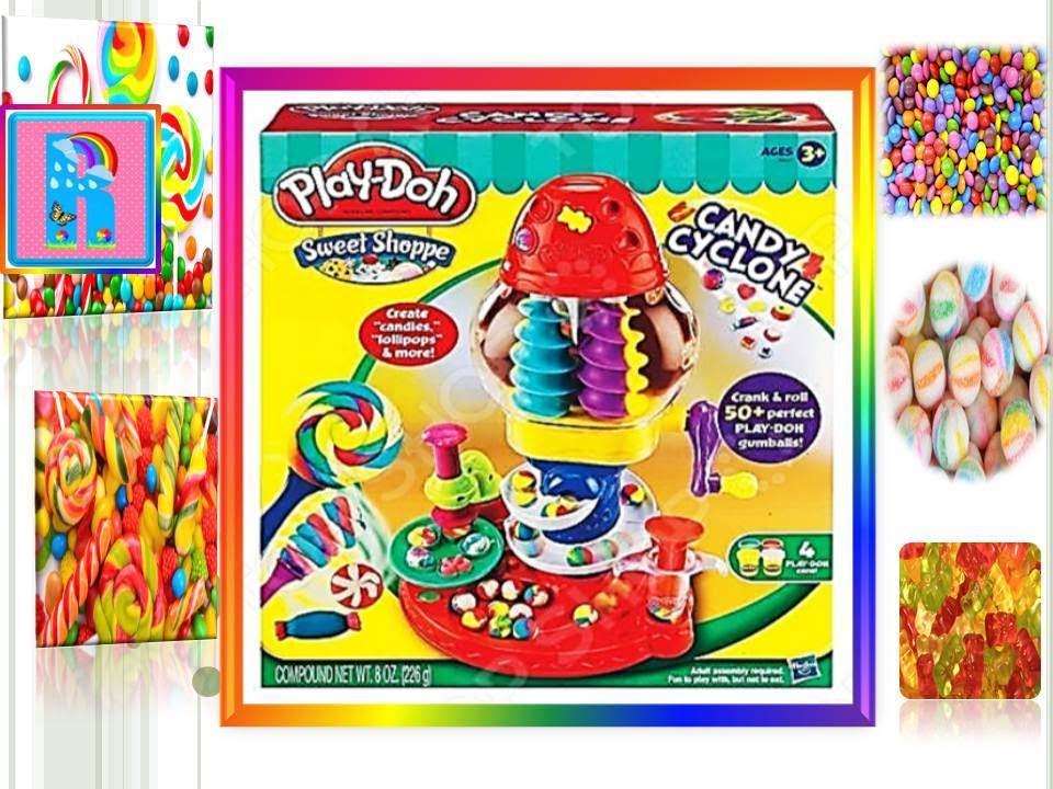 Фабрика конфет от Play-Doh/Factory chocolates from Play-Doh - YouTube