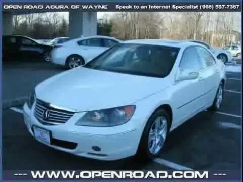 Open Road Acura Wayne >> Used Acura Rl 2007 Located In At Open Road Acura Of Wayne Youtube