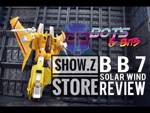 BB7 Solarwind KO Takara Sunstorm review!!