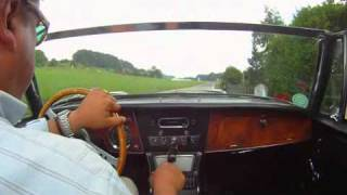 A short drive with an Austin-Healey 3000 MK III, phase 2 (1965)