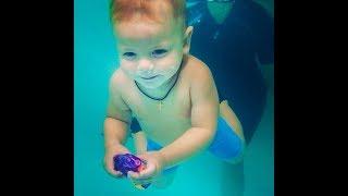 Как научить ребенка плавать?-Обучение плаванию в бассейне в Минске для детей (Курсы,Секция,занятия)