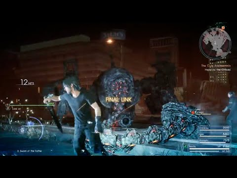 Final Fantasy XV - Omega Weapon Defeated in 9 Minutes!