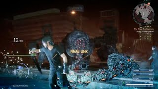 Final Fantasy XV - Omega Defeated in 9 Minutes!