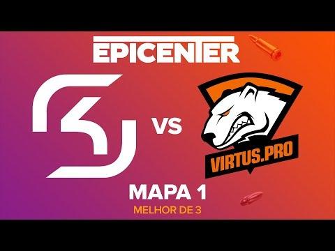 EPICENTER 2017 - SK Gaming vs. Virtus.Pro (Mapa 1 - Train) - Narração PT-BR