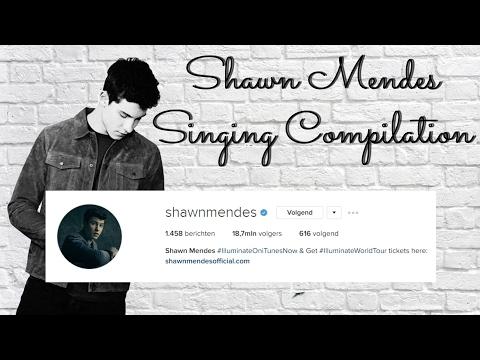 Shawn Mendes Singing Instagram Compilation (2016-2017)