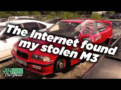My 1995 BMW E36 M3 got stolen, the internet found it!