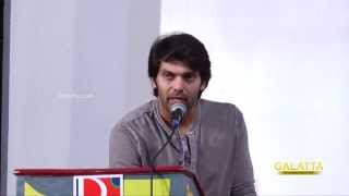 Arya on Meaghamann | Galatta Tamil