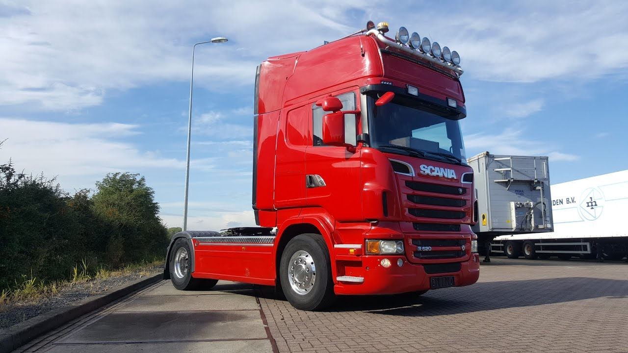 Excellent Kleyn Trucks Scania R620 V8 SOLD - YouTube WI11