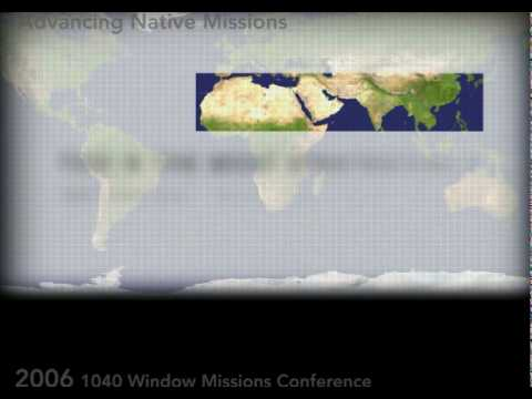Introduction to the 10 40 window youtube for 10 40 window list of countries