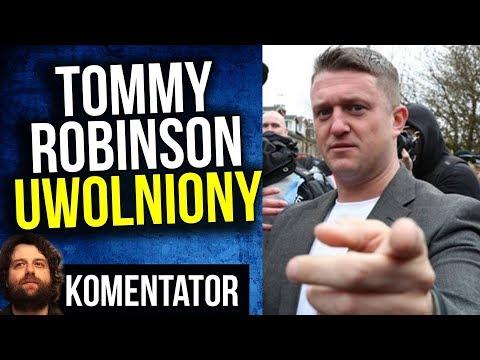 SUKCES - Tommy Robinson Wolny z Więzienia. Normalność Wraca do Anglii ? – Komentator