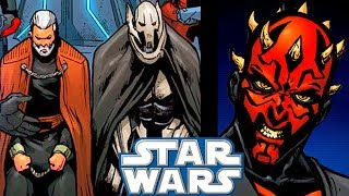 Maul CAPTURES Both Dooku and Grievous(CANON) - Star Wars Comics Explained