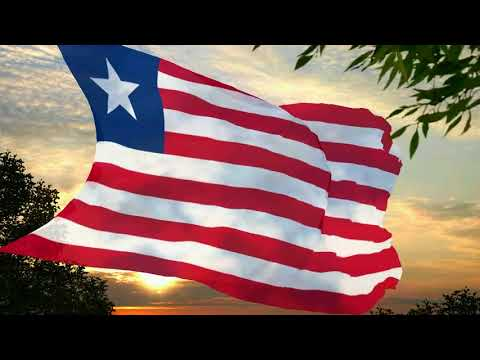 Flag and anthem of Liberia