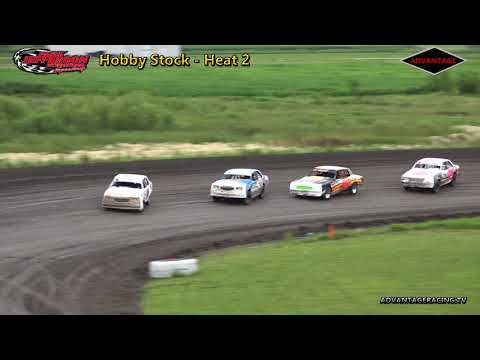 Hobby Stock Heats - Park Jefferson Speedway - 6/30/18