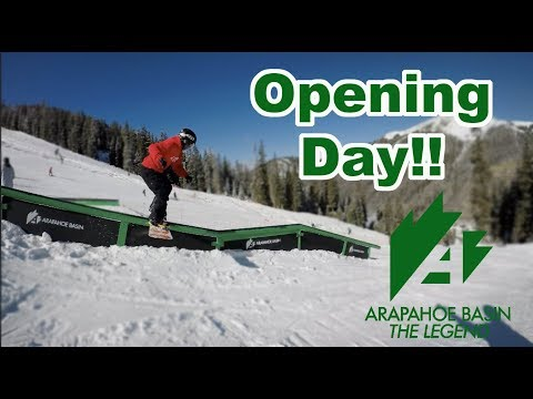 Opening Day Arapahoe Basin Colorado 2018 2019 - (Season 3, Day 4)