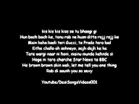 honey singh brown rang lyrics from ksk and manish - YouTube