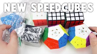 Unboxing the QiYi Thunderclap 4x4s, Cubicle Galaxy Megaminx M, and More! | TheCubicle.us