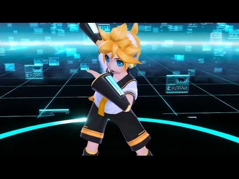 【Rin・Len】 Kagamine Let's Say the P Names! ENGLISH Project Diva F Edit PV
