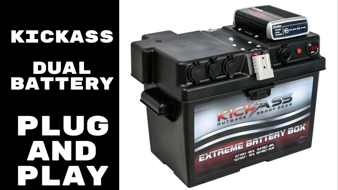 Kickass 12v Dual Battery System With Dcdc Charger