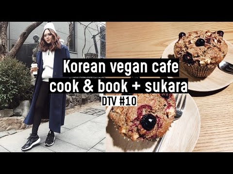 Korean Vegan Cafes: