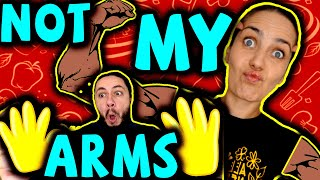 NOT MY ARMS CHALLENGE 🙌💪🤭