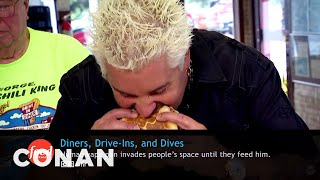 What Conan's Watching: Diners, Drive-Ins, And Dives Edition  - CONAN on TBS
