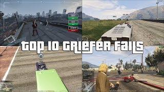 GTA Online Top 10 Griefer Fails