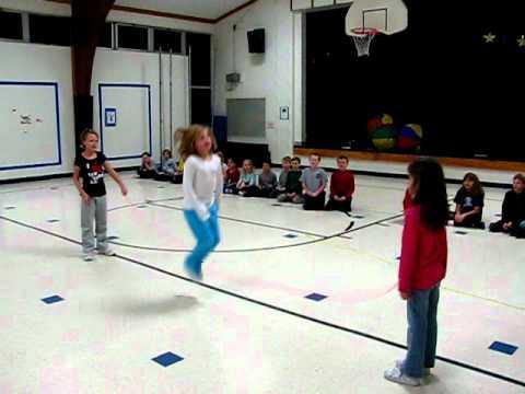 PE Long Jump Rope Rhymes