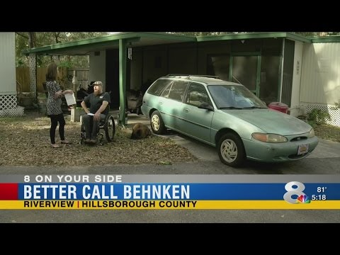 Better Call Behnken: Disabled veteran's car damaged, insurance company won't cover damage