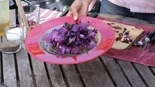 Red Cabbage On The Grill : Bbq Grilling Tips