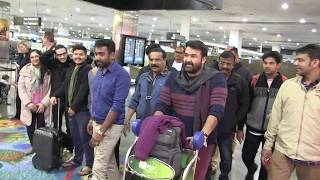 Indian star MOHANLAL gives female fan a night to remember in Australia