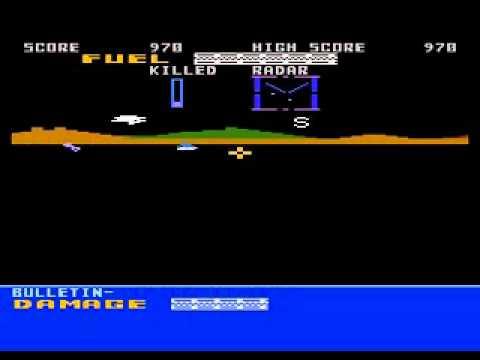 Assault Force 3-D - Atari 8-bits