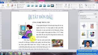 Thành thạo Tin Học Văn phòng [Microsoft Word]
