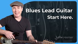 The Blues Language, Communicate Your Blues: Essential Blues Lead Guitar Lesson Tutorial s1p1