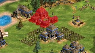 Not so scuffed Age of Empires 2 game