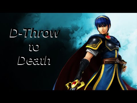 Marth D-throw Kill Confirms - Patch 1.1.4