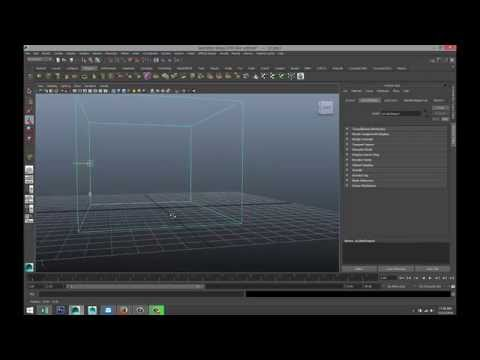 Maya Tutorial : How To Move Your Pivot Point ( 2 Methods )