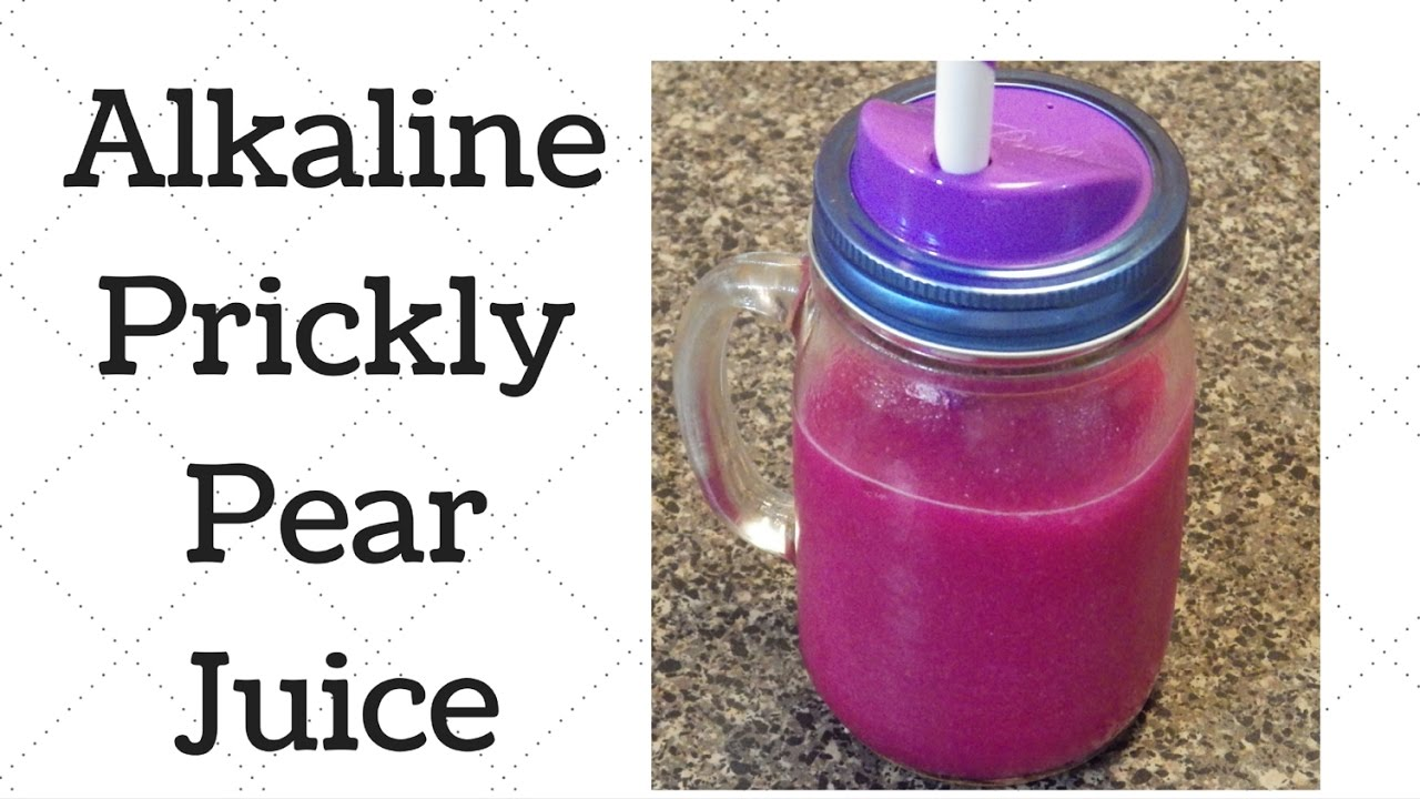 How to Make Prickly Pear Juice forecasting