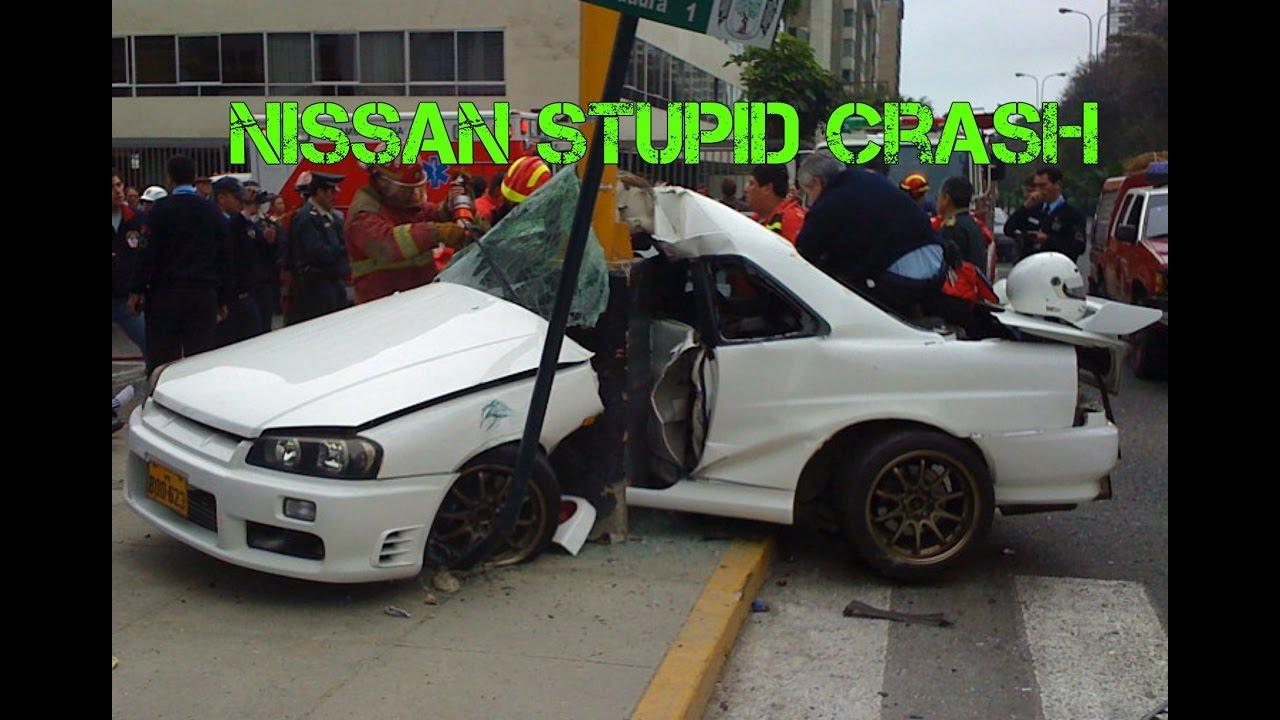 NISSAN Crash Compilation Part.2 - Accident Patrol Skyline ...