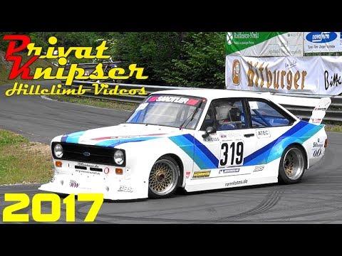 Wolsfelder Bergrennen 2017 // All 31 Drivers E1 2000ccm KW Berg-Cup // Pure Amazing Hillclimb Sound