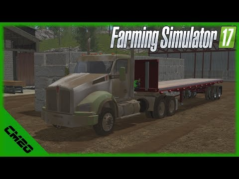 Farming Simulator 17 /PV17v3 / Ep.18 - Silt,Wood and Updates