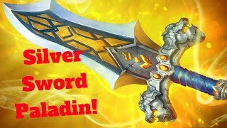 Silver Sword Paladin! Huge Burst! [Hearthstone Game of the Day]